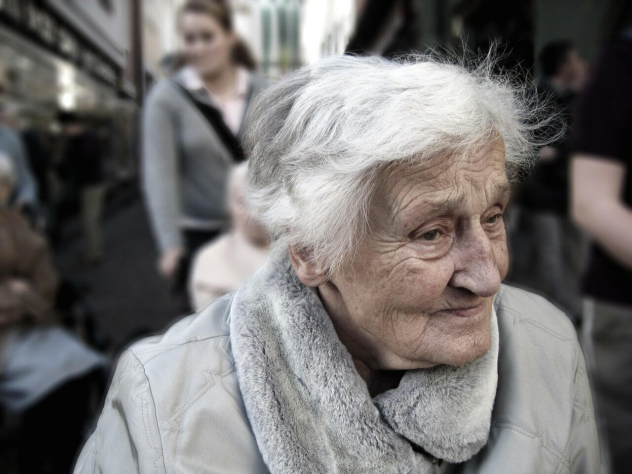 senior female