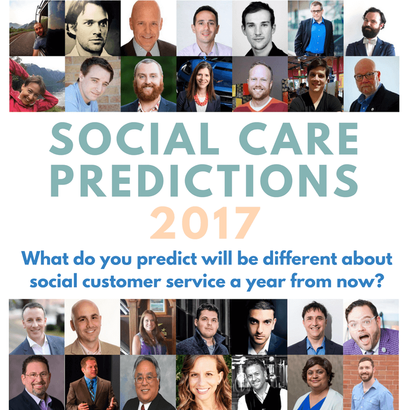 social customer service predictions