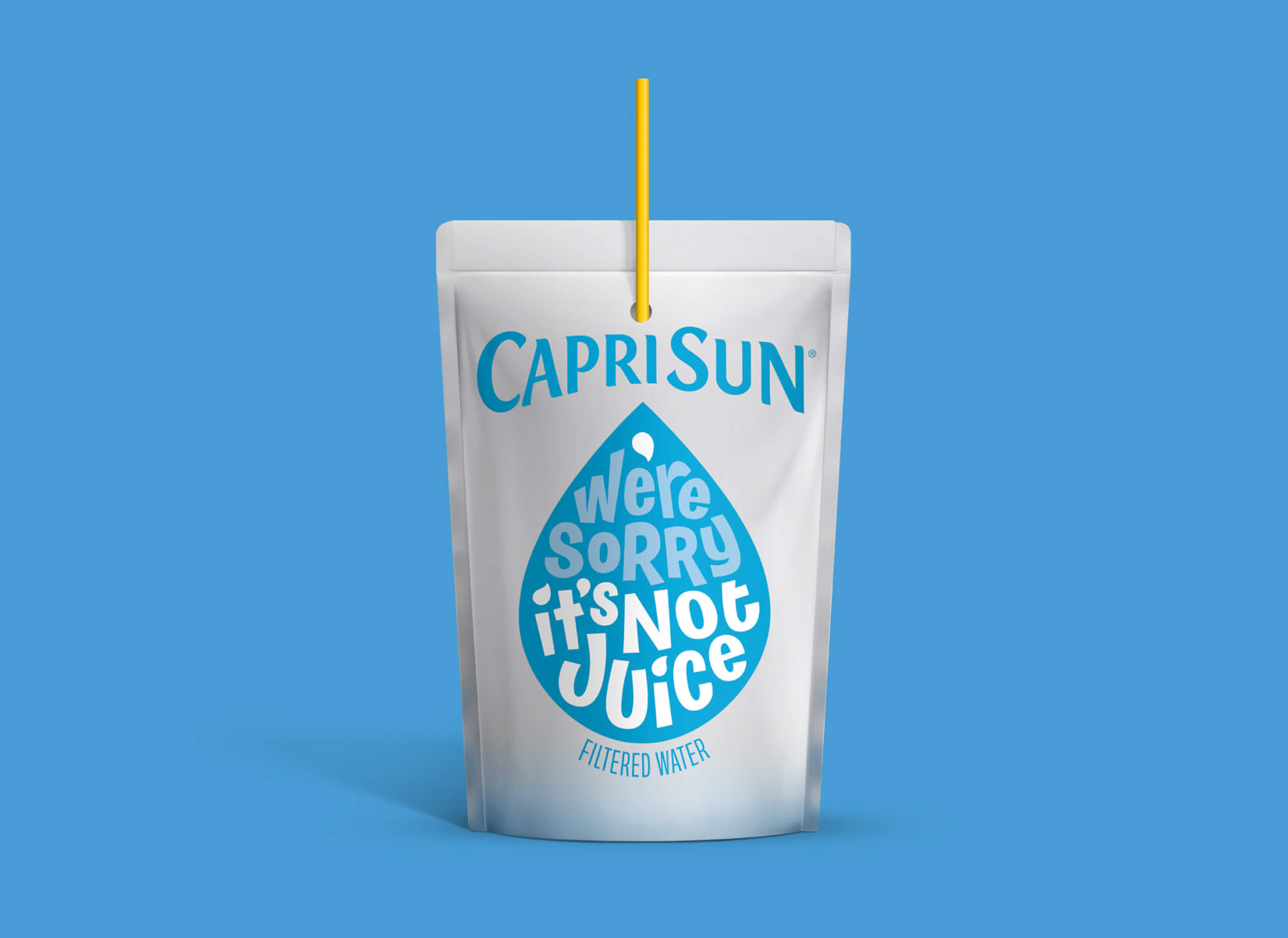 Capri Sun Filtered Water Blue