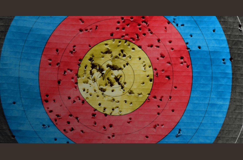 bullseye representing content marketing