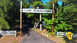 camp nebagamon entrance