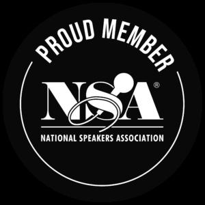 NSA member badge